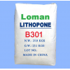 龙曼钛白供应超细超白立德粉B301