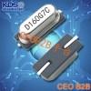 KDS晶振,无源晶振,SMD-49晶振
