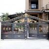 东莞华雅别墅大门,铸铝花饰,高端实用