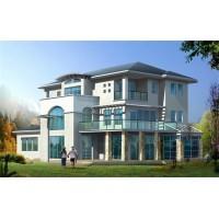 轻型钢结构别墅的性能-河北圣达
