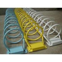 卡位式自行车停放架    环保卡位式电动车停放架
