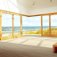 包木门窗,铝木复合门窗,断桥门窗,铝包木阳光房,实木阳光房