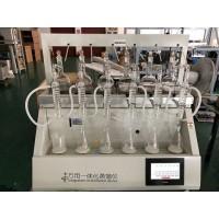 上海全自动一体化蒸馏仪JTZL-6水质氨氮前处理
