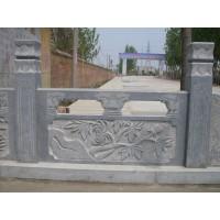 青石栏板、青石栏杆、青石护栏、青石栏杆厂家