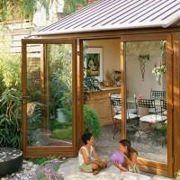 铝木复合门窗,断桥门窗,铝包木阳光房,实木阳光房