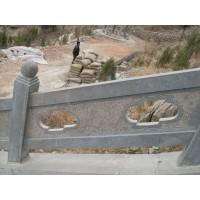 青石桥栏杆、青石桥栏板、河道护栏、雕花石栏板