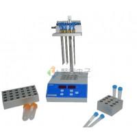 单模块干式氮吹仪JTN100-1铝块加热