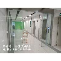 南京钢化玻璃门安装