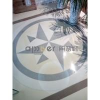 南京阿普勒新型无机磨石地坪设计施工