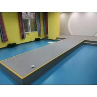 常州幼儿园pvc塑胶地板运动地板地板胶绿质厂家直销