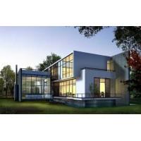 绿色建筑环保材料钢结构工程别墅施工