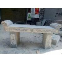 青石供桌、青石香台、石雕供桌