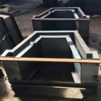 铁路泄水槽钢模具 异型分水槽模具
