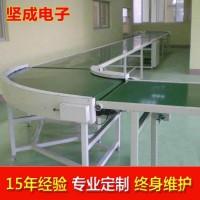 深圳流水线坚成电子环形包装生产线BLN02爬坡自动化输送机