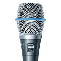 SHURE 经典手持乐器录音立体声麦克 舒尔-经销商声海创新