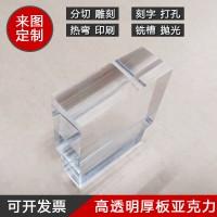 透明塑料亚克力板有机玻璃塑料板1-100mm展板广告板加工