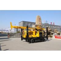 ST-L500履带式气动水井钻机 农业灌溉家用气动打井机
