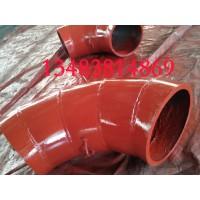 沧州钢玉陶瓷弯头-渤洋钢玉陶瓷弯头厂家-品牌-图片