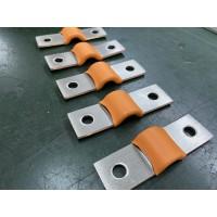 橙色铜软连接 铜箔软连接 软铜排生产加工