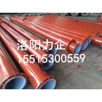厂家供应盐水输送管道 化工回水管道 碳钢衬塑管道