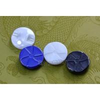 汤斯敦新款浮雕陶瓷纽扣 陶瓷工艺厂家专业生产
