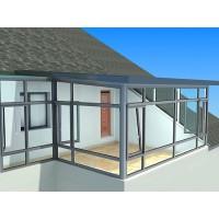 湖州高档铝包木门窗,浙江别墅高档铝木阳光房,高档铝木复合门窗