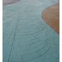 水泥压模地坪施工模具材料价格