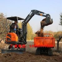 农用小型挖机大棚用的挖土机果园施肥翻土专用挖掘机